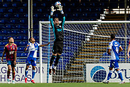 Ipswich Town goalkeeper Thomas Holy (1) collects the ball during the EFL Sky Bet League 1 match between Bristol Rovers and Ipswich Town at the Memorial Stadium, Bristol, England on 19 September 2020.