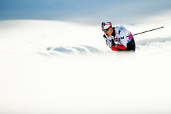 February 2, 2018 - Goms, SWITZERLAND - 180202 Eirik Sverdrup Augdal of Norway competes in the men's 15/15 km skiathlon during the FIS U23 Cross-Country World Ski Championships on February 2, 2018 in Obergoms..Photo: Vegard Wivestad GrÂ¿tt / BILDBYRN / kod VG / 170096 (Credit Image: © Vegard Wivestad Gr¯Tt/Bildbyran via ZUMA Press)