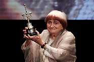 092417 Agnes Varda - Donostia Award - 65th San Sebastian Film Festival