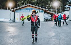 06.01.2020, Paul Außerleitner Schanze, Bischofshofen, AUT, FIS Weltcup Skisprung, Vierschanzentournee, Bischofshofen, Finale, im Bild Stefan Huber (AUT) // Stefan Huber of Austria during the final for the Four Hills Tournament of FIS Ski Jumping World Cup at the Paul Außerleitner Schanze in Bischofshofen, Austria on 2020/01/06. EXPA Pictures © 2020, PhotoCredit: EXPA/ JFK