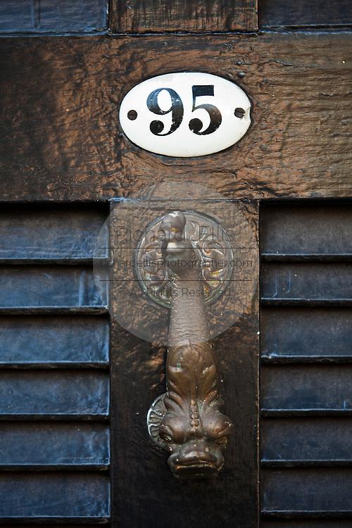 Fish door knocker Charleston, SC.