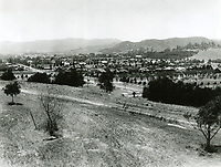1911 Looking NW from Olive Hill, now Barnsdall Park