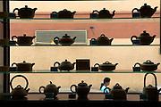 Tea shop selling specialist teas and pots, Chinatown, Kuala Lumpur, Malaysia
