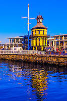 Clock tower, Victoria & Alfred Waterfront, Cape Town, South Africa.