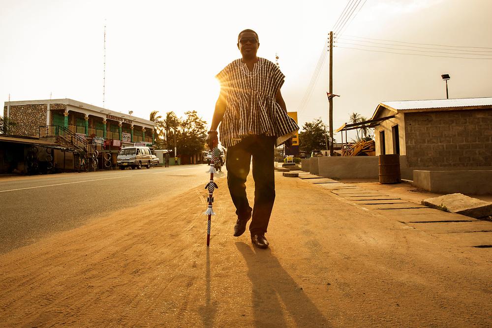 Togbe Osei III<br /> Ghana, September 4, 2016