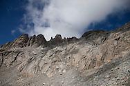 Montagne del Passo del Forno.(2775 metri)