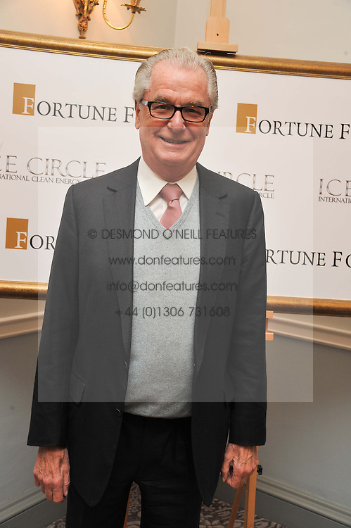 LORD BELL at the 4th Fortune Forum Summit held at The Dorchester Hotel, Park Lane, London on 4th December 2012.