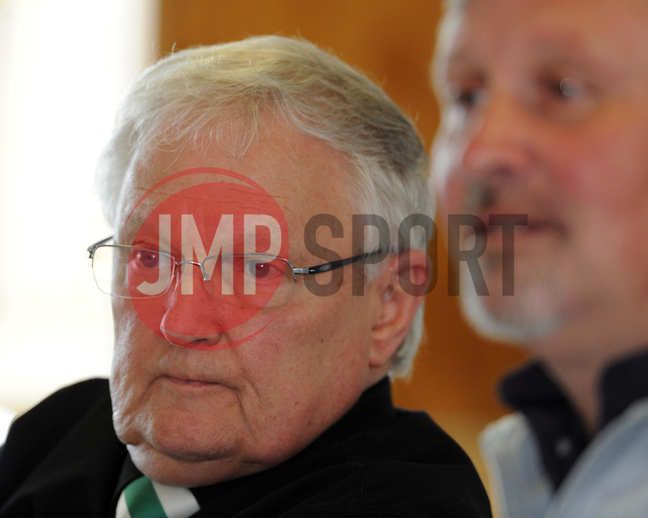 Yeovil Town Chairman John Fry at a Press Conference at Huish Park, Yeovil on the 9th of April 2015. - Photo mandatory by-line: Harry Trump/JMP - Mobile: 07966 386802 - 09/04/15 - SPORT - FOOTBALL - Yeovil Town Press Conference - Huish Park, Yeovil, England.