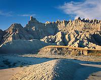Badlands rock formations, Badlands National Park South Dakota USA