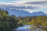 Scenic view at Katmai National Park, Alaska.