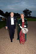 THE DUKE OF RICHMOND; DUCHESS OF RICHMOND, The Goodwood Ball. In aid of Gt. Ormond St. hospital. Goodwood House. 27 July 2011. <br /> <br />  , -DO NOT ARCHIVE-© Copyright Photograph by Dafydd Jones. 248 Clapham Rd. London SW9 0PZ. Tel 0207 820 0771. www.dafjones.com.