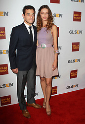 Rami Malek and Angela Sarafyan attending the '8th Annual GLSEN Respect Awards' held at The Beverly Hills Hotel in Beverly Hills, CA, USA on October 05, 2012. Photo by Gimini/ABACAPRESS.COM  | 337433_018 Los Angeles Etats-Unis United States