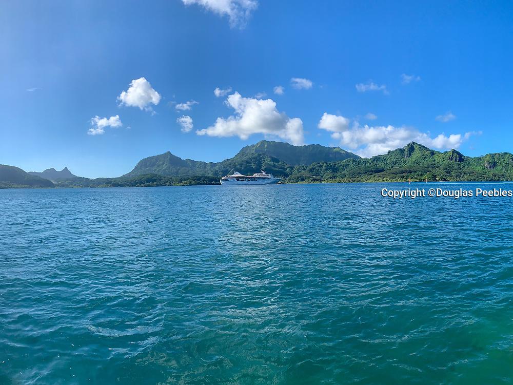 Maroe Bay, Huahine, Society Islands, French Polynesia; South Pacific
