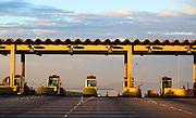 Itaguara_MG, Brasil...Cabines de pedagio da BR 361 localizado na cidade de Itagura, Minas Gerais...Toll booths BR 361 located in Itagura twon, Minas Gerais.. .Foto: RODRIGO LIMA / NITRO