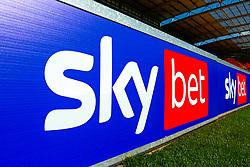 Sky Bet branding - Mandatory by-line: Ryan Crockett/JMP - 19/09/2020 - FOOTBALL - Aesseal New York Stadium - Rotherham, England - Rotherham United v Millwall - Sky Bet Championship