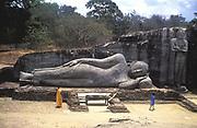 Sri Lanaka - Reclining Buddha, Gal Vihare.