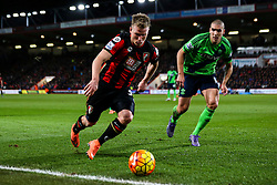 Matt Ritchie of Bournemouth in action - Mandatory by-line: Jason Brown/JMP - Mobile 07966 386802 01/03/2016 - SPORT - FOOTBALL - Bournemouth, Vitality Stadium - AFC Bournemouth v Southampton - Barclays Premier League