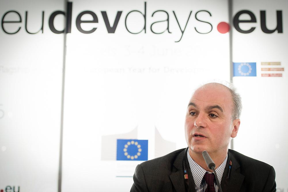 03 June 2015 - Belgium - Brussels - European Development Days - EDD - Growth - Ideas to impact-Innovation prizes for development - Gaspar Frontini , <br /> Head of unit at European Commission © European Union