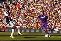Stoke City's Erik Pieters seeks to cross into the West Bromwich Albion box<br /> <br /> Photographer David Shipman/CameraSport<br /> <br /> The EFL Sky Bet Championship - West Bromwich Albion v Stoke City - Saturday September 1st 2018 - The Hawthorns - West Bromwich<br /> <br /> World Copyright © 2018 CameraSport. All rights reserved. 43 Linden Ave. Countesthorpe. Leicester. England. LE8 5PG - Tel: +44 (0) 116 277 4147 - admin@camerasport.com - www.camerasport.com