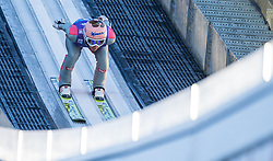 31.12.2017, Olympiaschanze, Garmisch Partenkirchen, GER, FIS Weltcup Ski Sprung, Vierschanzentournee, Garmisch Partenkirchen, Training, im Bild Stefan Kraft (AUT) // Stefan Kraft of Austria during his Practice Jump for the Four Hills Tournament of FIS Ski Jumping World Cup at the Olympiaschanze in Garmisch Partenkirchen, Germany on 2017/12/31. EXPA Pictures © 2017, PhotoCredit: EXPA/ Jakob Gruber