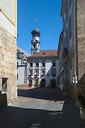 Austria, Hall in Tirol. Jesuit church