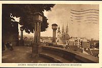 """Zagreb: Bellevue : (Pogled sa Štrosmajerovog šetališta). <br /> <br /> Impresum[S. l.] : Naklada """"Jugo-istok"""", [193-].<br /> Materijalni opis1 razglednica : tisak ; 9 x 14 cm.<br /> Korporativni suradnikFoto Varga<br /> NakladnikNaklada """"Jugo-istok""""<br /> Vrstavizualna građa • razglednice<br /> ZbirkaZbirka razglednica • Grafička zbirka NSK<br /> Formatimage/jpeg<br /> PredmetZagreb –– Šetalište Josipa Jurja Strossmayera<br /> SignaturaRZG-STR-6<br /> Obuhvat(vremenski)20. stoljeće<br /> NapomenaRazglednica je tiskana po fotografiji Foto Varge, Zagreb.<br /> PravaJavno dobro<br /> Identifikatori000952564<br /> NBN.HRNBN: urn:nbn:hr:238:334548 <br /> <br /> Izvor: Digitalne zbirke Nacionalne i sveučilišne knjižnice u Zagrebu"""