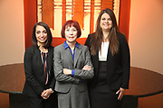 SHOT 12/4/19 11:25:09 AM - McGuane & Hogan, P.C., a Colorado family law firm located in Denver, Co. Includes attorneys Kathleen Ann Hogan, Halleh T. Omidi and Katie P. Ahles. (Photo by Marc Piscotty / © 2019)