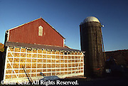 Perry Co., PA, Farm, Corn Crib Full