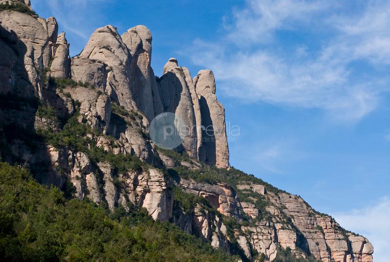 Sierra de Montserrat .Barcelona