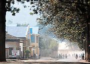 Street scene in Gisenyi, Rwanda