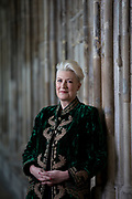 Sarah Connolly, photographed for BBC Music Magazine at Gloucester Cathedral. Sarah Connolly Portrait