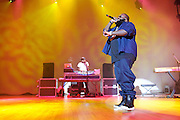"""WASHINGTON, DC - February 23rd, 2012 - Rick Ross, recently named """"The Hottest MC In The Game"""" for 2011 by MTV, performs at DAR Constitution Hall in Washington, D.C. (Photo by Kyle Gustafson/For The Washington Post)"""