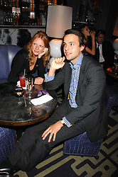 CHARLIE GILKES and OLIVIA INGE at a party to promote The Landau at The Langham, Portland Place, London W1 on 7th February 2008.<br />