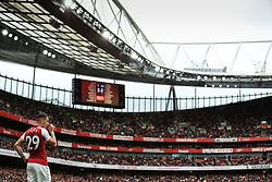 1 October 2017 -  Premier League - Arsenal v Brighton & Hove Albion - Granit Xhaka of Arsenal - Photo: Marc Atkins/Offside