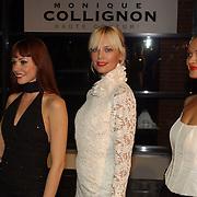 Presentatie nieuwe BMW modellen, mannequin Monique Collignon