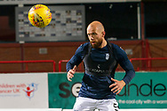 06/10/2020: Dundee FC train at Kilmac Stadium after their Betfred Cup match against Forfar Athletic was postponed due to a positive COVID test result for one of the Forfar players: Jordon Forster of Dundee <br /> <br /> <br />  :©David Young: davidyoungphoto@gmail.com: www.davidyoungphoto.co.uk