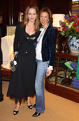 Left to right, TRINNY WOODALL and HEATHER KERZNER at a party at Ralph Lauren, Bond Street, London in support of the NSPCC's Full Stop campaign on 21st March 2006.<br />