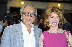 Image ©Licensed to i-Images Picture Agency. 08/07/2014. London, United Kingdom. Gerald Scarfe & Jane Asher during the press night for 'The Curious Incident Of The Dog In The Night-Time' at Gielgud Theatre. Picture by Chris Joseph / i-Images
