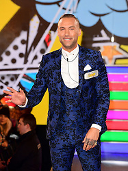 Calum Best enters the Celebrity Big Brother house at Elstree Studios in Borehamwood, Herfordshire, during the latest series of the Channel 5 reality TV programme.