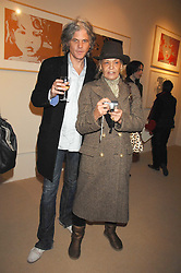 TARKA CORDELL and ANITA PALLENBERG at a private view of work by Tarka Cordell and Piers jackson held at the Barney Cordell Gallery, 90 Lots Road, London SW10 on 11th December 2007.<br /><br />NON EXCLUSIVE - WORLD RIGHTS