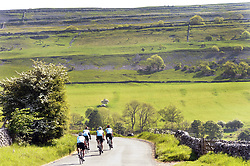 Cycling in the Yorkshire Dales UK