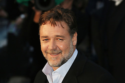 © Licensed to London News Pictures. 31/03/2014, UK. Russell Crowe, Noah - UK film premiere, Odeon Leicester Square, London UK, 31 March 2014. Photo credit : Richard Goldschmidt/Piqtured/LNP