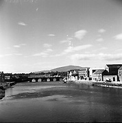 River Suir at Clonmel, Co Tipperary. 02/04/1957