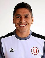 Football - Peruvian League Descentralizado - <br /> Movistar Trophy 2016 - Abertura Tournament / <br /> Club Universitario De Deportes Lima - <br /> Josimar Vargas