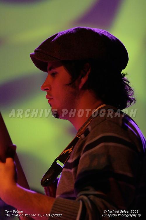 PONTIAC, MI, SATURDAY, JAN. 19, 2008: Tom Butwin, John Garland at The Crofoot, Pontiac, MI, 01/19/2008. (Image Credit: Michael Spleet / 2SnapsUp Photography)