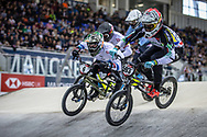 #593 (CAMPO Alfredo) ECU at Round 2 of the 2019 UCI BMX Supercross World Cup in Manchester, Great Britain