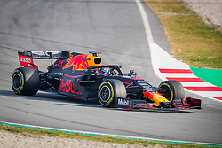 February 19, 2019 - Montmelo, Barcelona, Spain - Barcelona-Catalunya Circuit, Montmelo, Catalonia, Spain - 19/02/2018: Pierre Gasly of Aston Martin RedBull Racing with the new RB15 car during second journey of F1 Test Days in Montmelo circuit. (Credit Image: © Javier Martinez De La Puente/SOPA Images via ZUMA Wire)