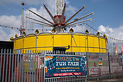 Digbeth fun fair on 3rd August 2021 in Birmingham, United Kingdom. Digbeth fun fair offers all sorts of fairground rides and attractions less than a mile from the city centre.