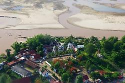 Luang Prabang View From Airplane