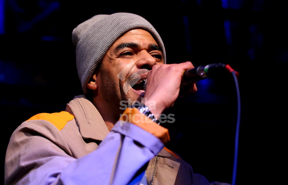Confucius MC performing at Jazz Cafe, Camden<br /> Picture by Ben Hoskins/Stella Pictures Ltd 07833 724935<br /> 27/01/2015